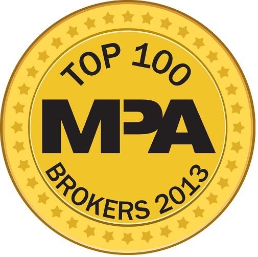 Mortgage Professional America Top 100 Brokers 2013