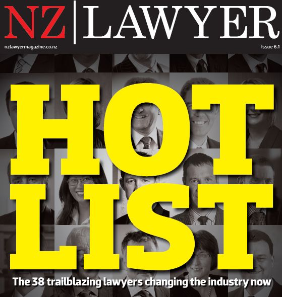 NZ Lawyer Hotlist 2014