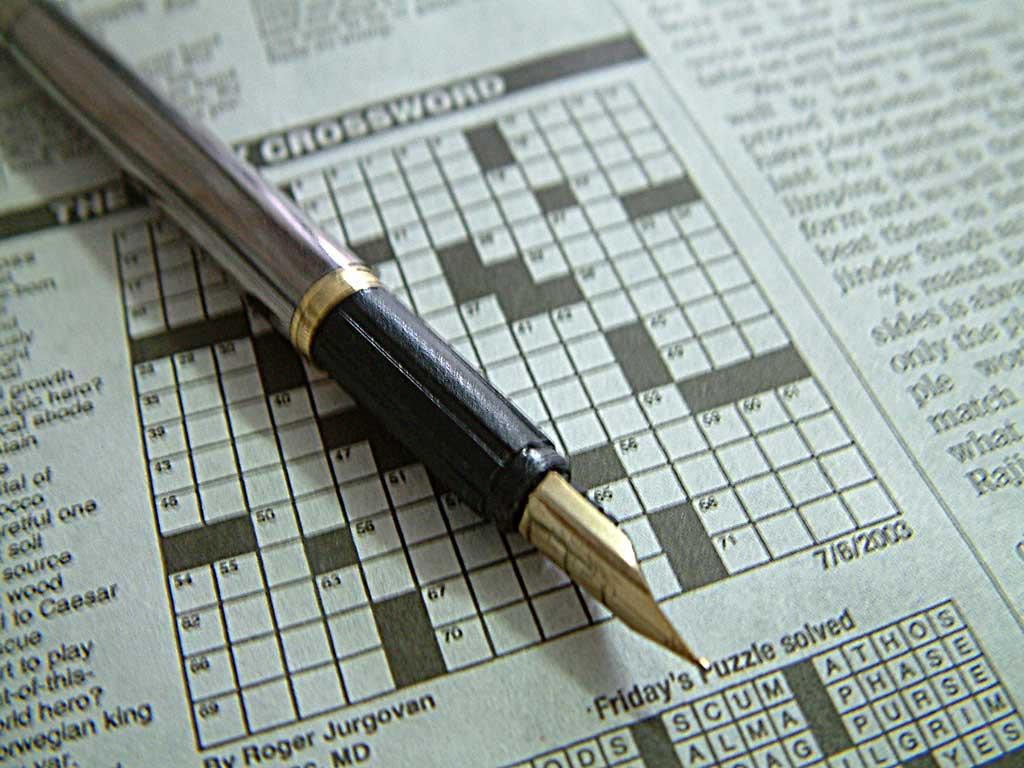 Lighter Side Lawyer Proposes Via Crossword