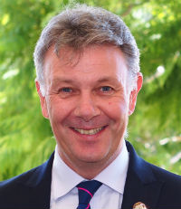 Patrick Innes-Hill, Principal, Emmanuel College, Josiah College