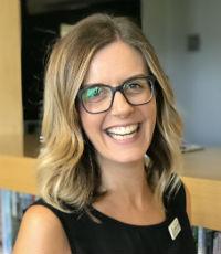 Stefanie Gaspari, Director of library services, Trinity Grammar School