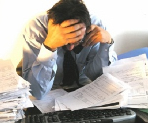 Middle managers under most stress