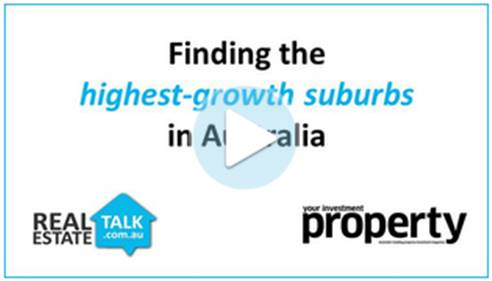 Special Report: Top Growth Suburbs in Australia