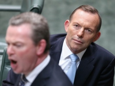 Abbott and Pyne rule out means test for public schools