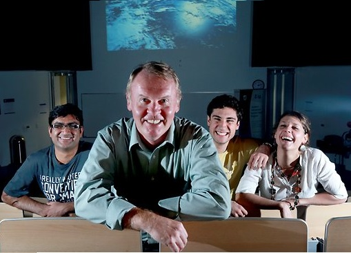 Astronaut has students over the moon about science