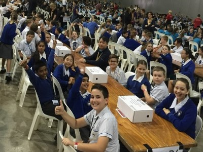 Aussie students break Guinness World Record