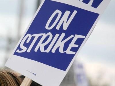 Catholic teachers walk off the job