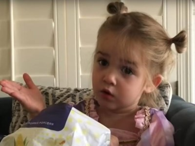 Far-out Friday: Toddler's first-day-of-school rant goes viral