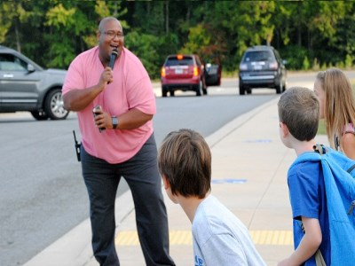Far Out Friday: Principal starts each day with a dance party