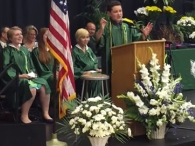 Far Out Friday Student's graduation speech trumps the rest