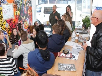 Humour workshop gives students comedic relief