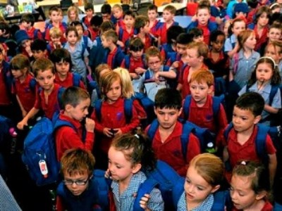 Public school kids crammed 'like battery hens'