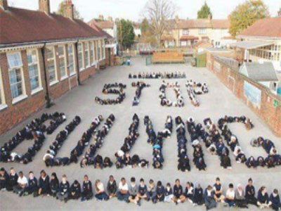 Schools team up to show a united front against bullying