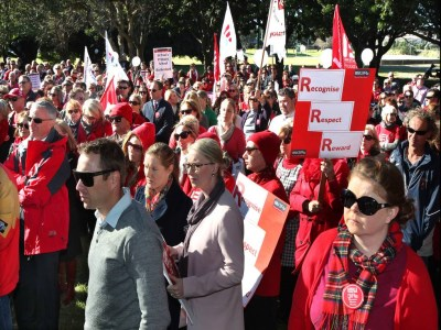 Breaking News: Union threatens industrial action