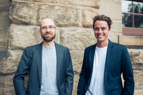 The co-founders of BnbGuard: Reuben Schwarz (left) and Richard Frey (right).