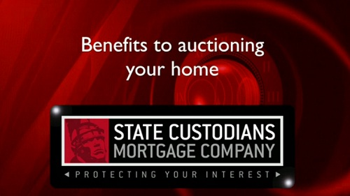 Benefits to auctioning your home