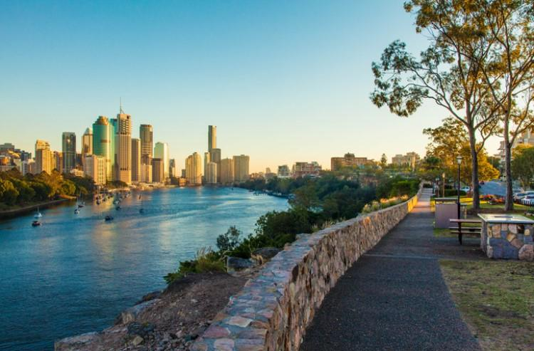 Brisbane's housing market is relatively subdued compared to other east coast capital cities.