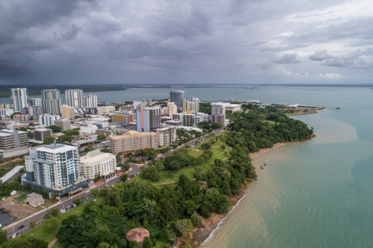 Darwin reported the most significant decline from the market peak amongst state capitals.