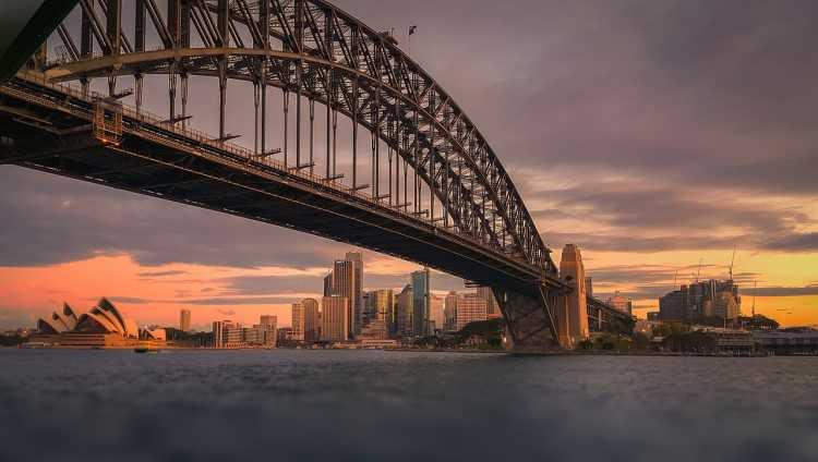 How do Sydney's housing values compare to other capitals?
