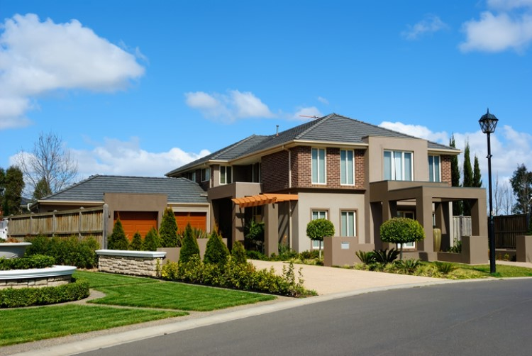 Suburbs are losing their million-dollar status due to downturn