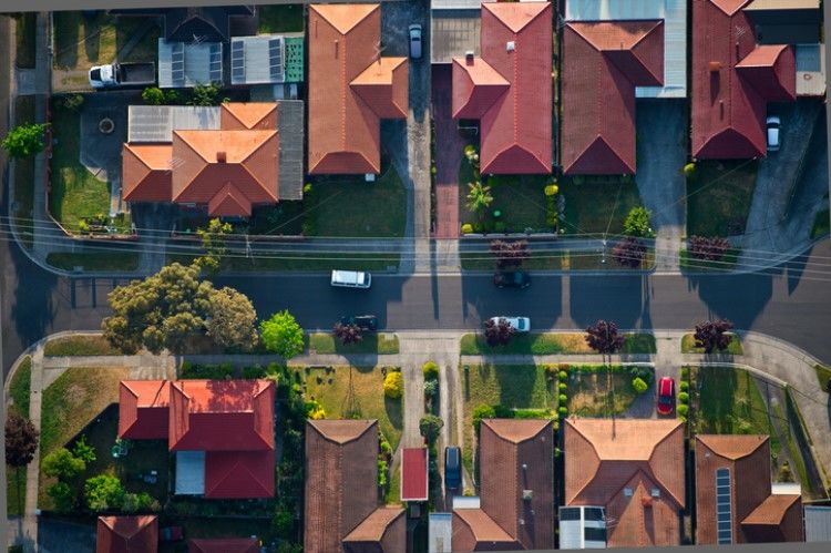 The current housing downturn has made homes in some Sydney and Melbourne suburbs affordable to average income earners