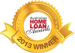 Australian Home Loan Awards Gold