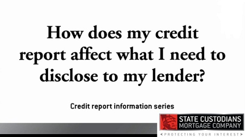 What your lender sees on your credit report