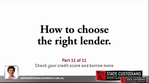 Check Your Credit Score and Borrow More - Part 11