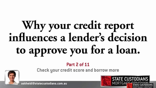 Check Your Credit Score and Borrow More - Part 2