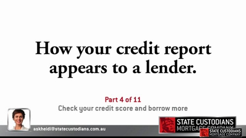 Check Your Credit Score and Borrow More - Part 4