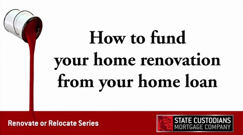 How to fund your home renovation from your home loan