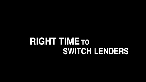 Quick Tips for Investors #2 When is the right time to switch lenders?