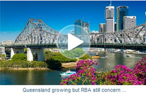 VIDEO: Queensland growing but RBA still concerned