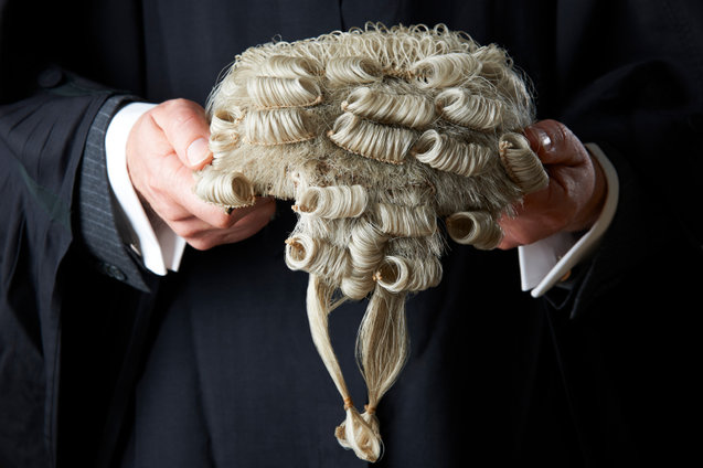 Barristers top the gender pay gap list