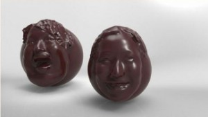 Chocolate faces