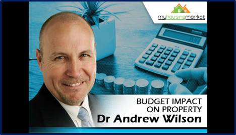 Budget's impact on property.
