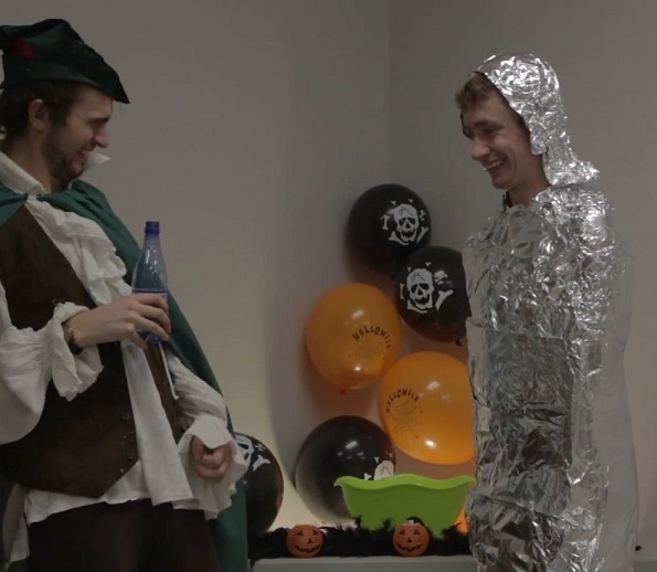 Lighter Side: Stuck for a last-minute Halloween costume?