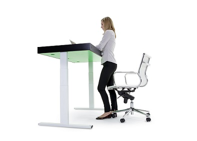 Lighter side: Desk tells you to stand