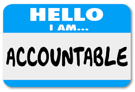 How to encourage accountability