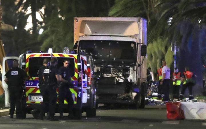 Truck rams crowd killing 60 in Bastille Day attack in Nice