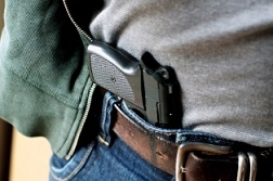 This insurance agency requires its employees to carry guns