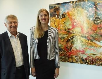 Firm opens emerging artist prize