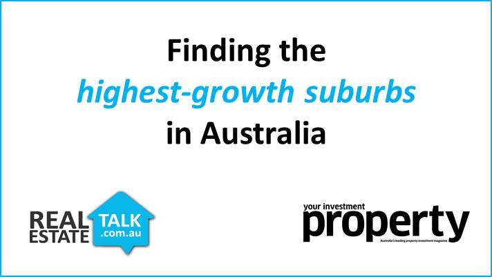 Special Report: High-Growth Suburbs in Australia