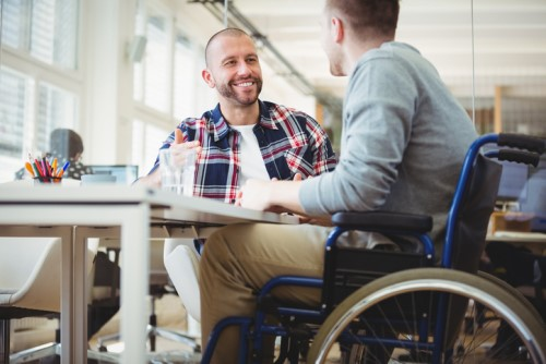 How can HR help people with disabilities?