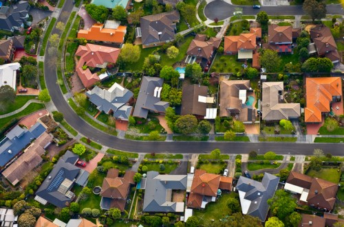 Top five suburbs for rental performance