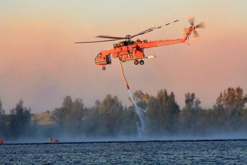Bushfire risk soars as mercury rises