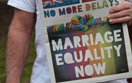 Lawyer bodies to scrutinise marriage equality legislation