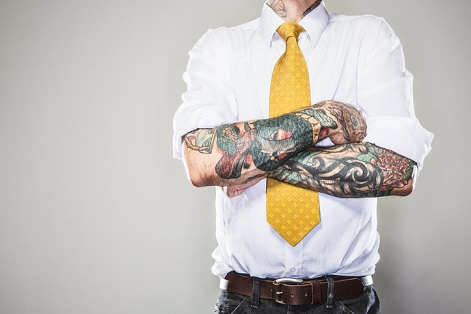 Four in ten recruiters reject 'perfect' candidate because of tattoo bias