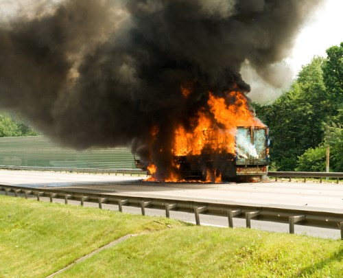 NTI seeks to draw attention to truck fires