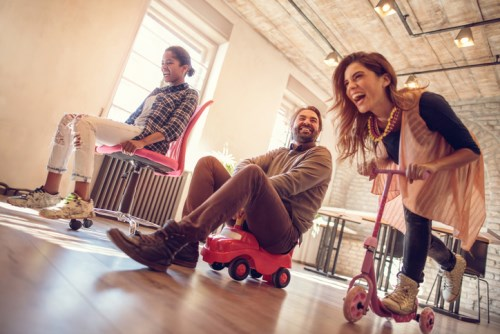 Workplace fun provides learning boost to employees